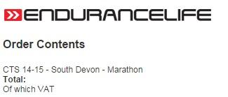Devon marathon