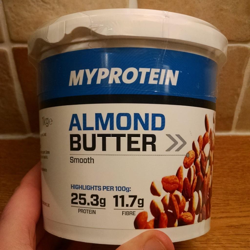 MyProtein Almond Butter massive tub