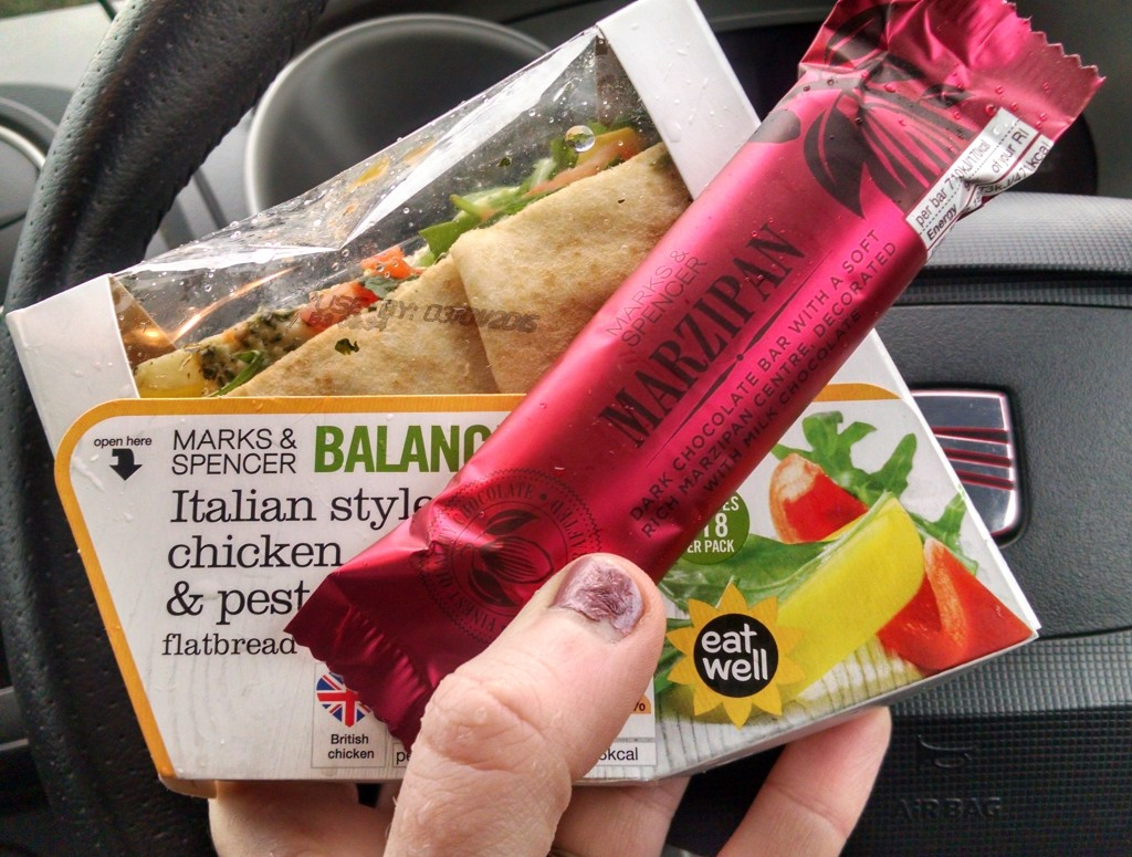 M&S lunch