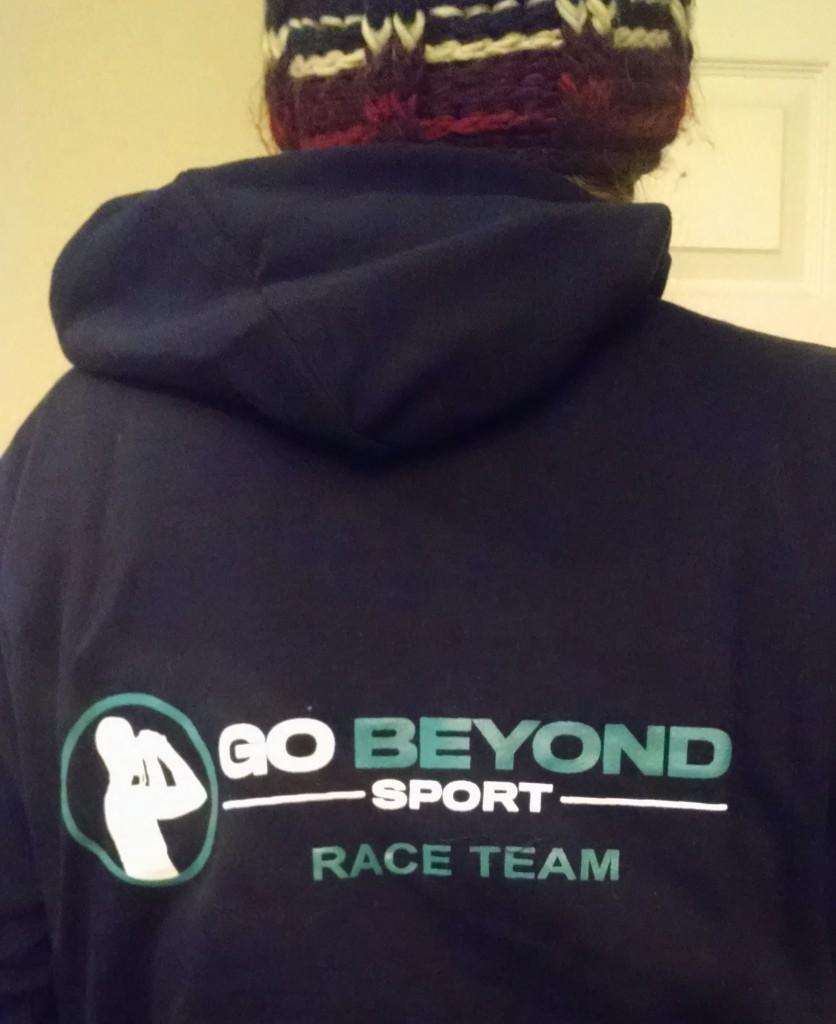 Go Beyond crew hoodie