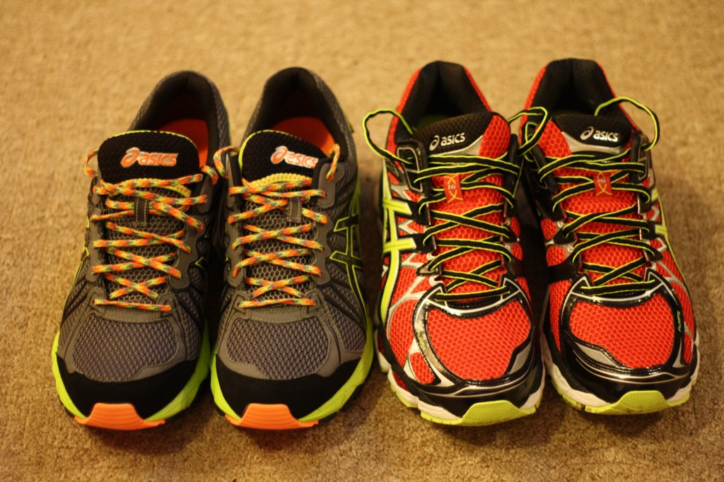 Asics collection! Nimbus 16s and Gel Fuji-Trabuco 3 GTXs
