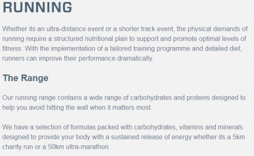 MyProtein running statement