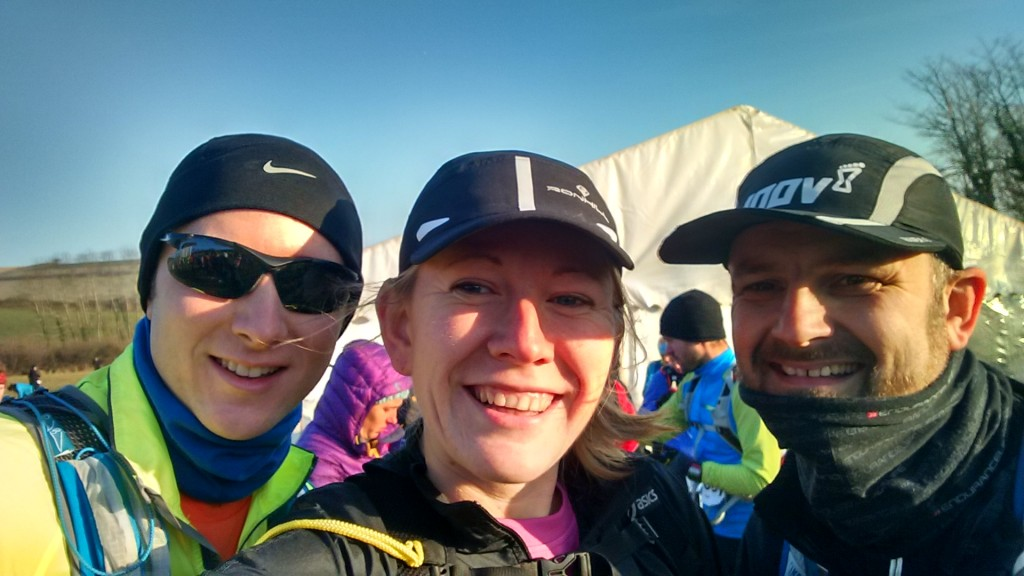 Tom, Me and Gary at the EnduranceLife South Devon start line