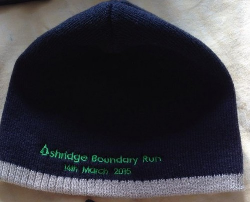 Ashridge Boundary run beanie