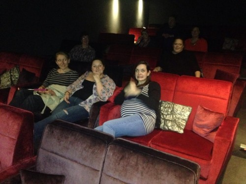 Vicki's hen do - Wildwood cinema room