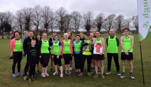 Alan's 50th parkrun