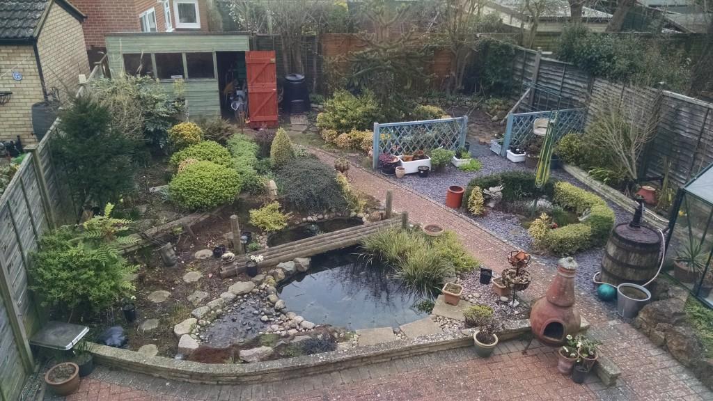New house garden