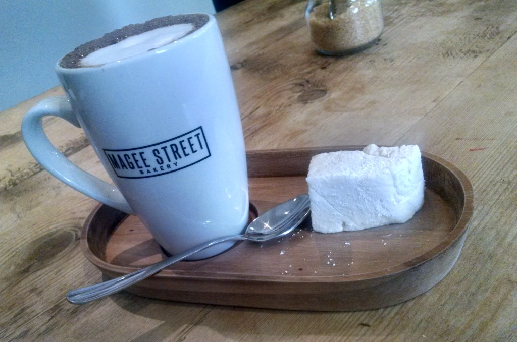 Magee street bakery, Northampton - hot chocolate