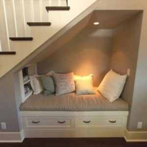 stairs nook