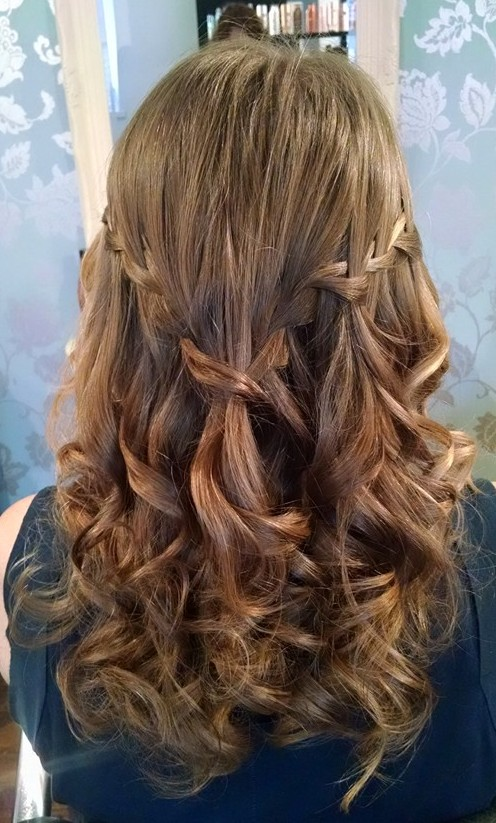 My hair for Vicki's wedding