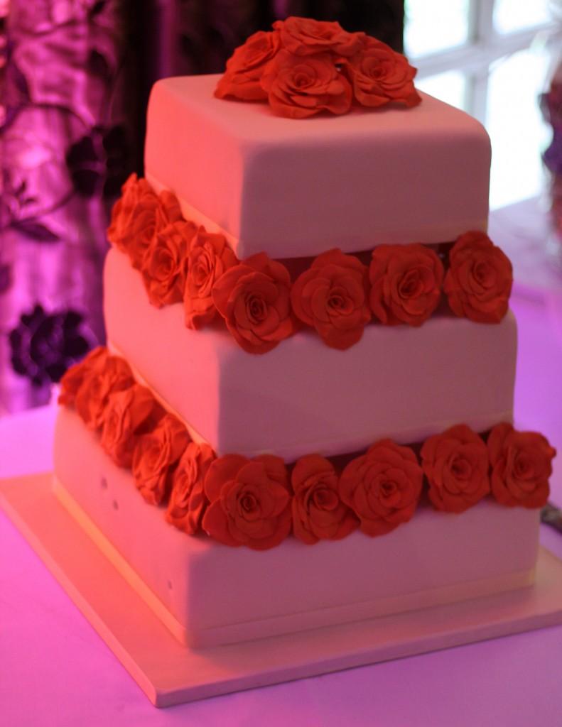 Vicki's wedding cake