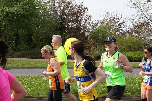 Milton Keynes marathon mile 6