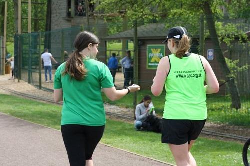 Milton Keynes marathon mile 16