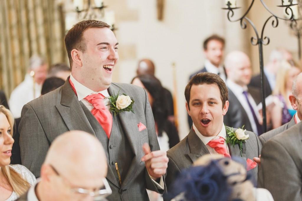 Dan and Nick at Vicki's wedding