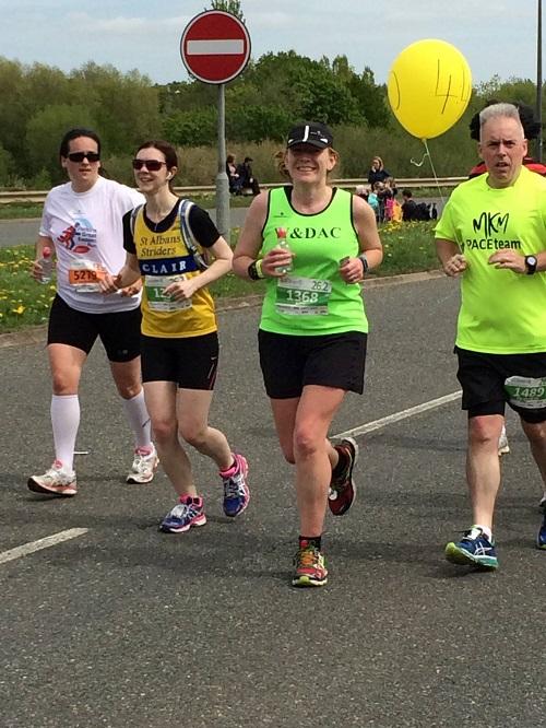 Milton Keynes marathon mile 10