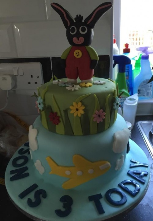 Jenson's third birthday cake