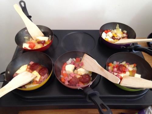 Tapas frying