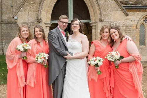 Bridesmaids at Vicki's wedding