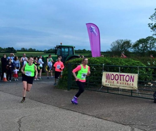 Blisworth 5 mile finish