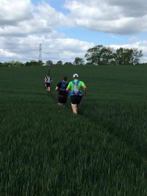 Recce of the Shires and Spires course