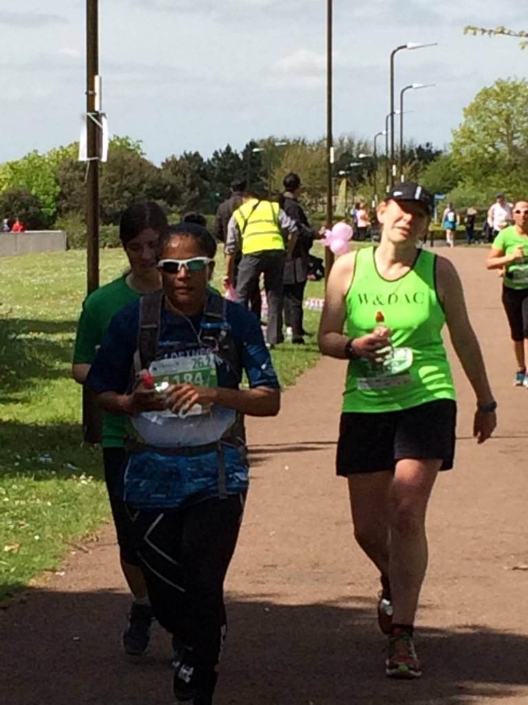 Milton Keynes Marathon mile 21