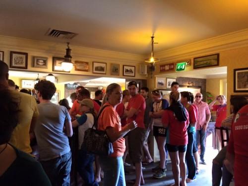 WDAC invade the pub