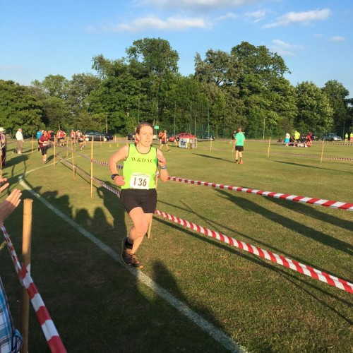 5miles at Colworth Marathon Challenge