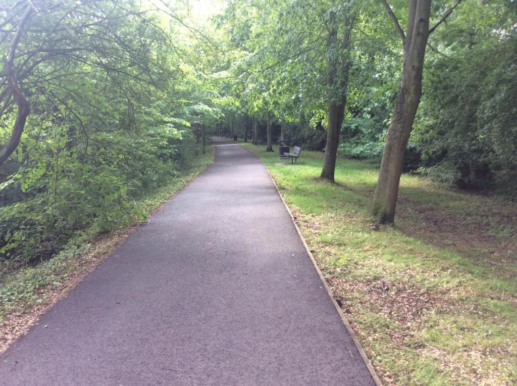 River walk after school