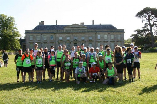 Wellingborough runners at Shires and Spires start