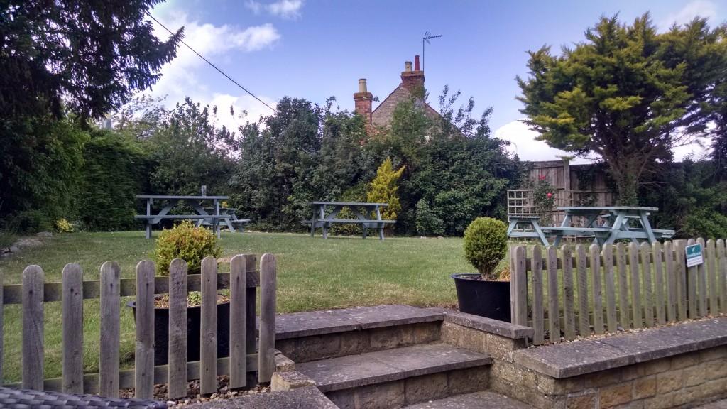 Samuel Pepys beer garden, Northamptonshire