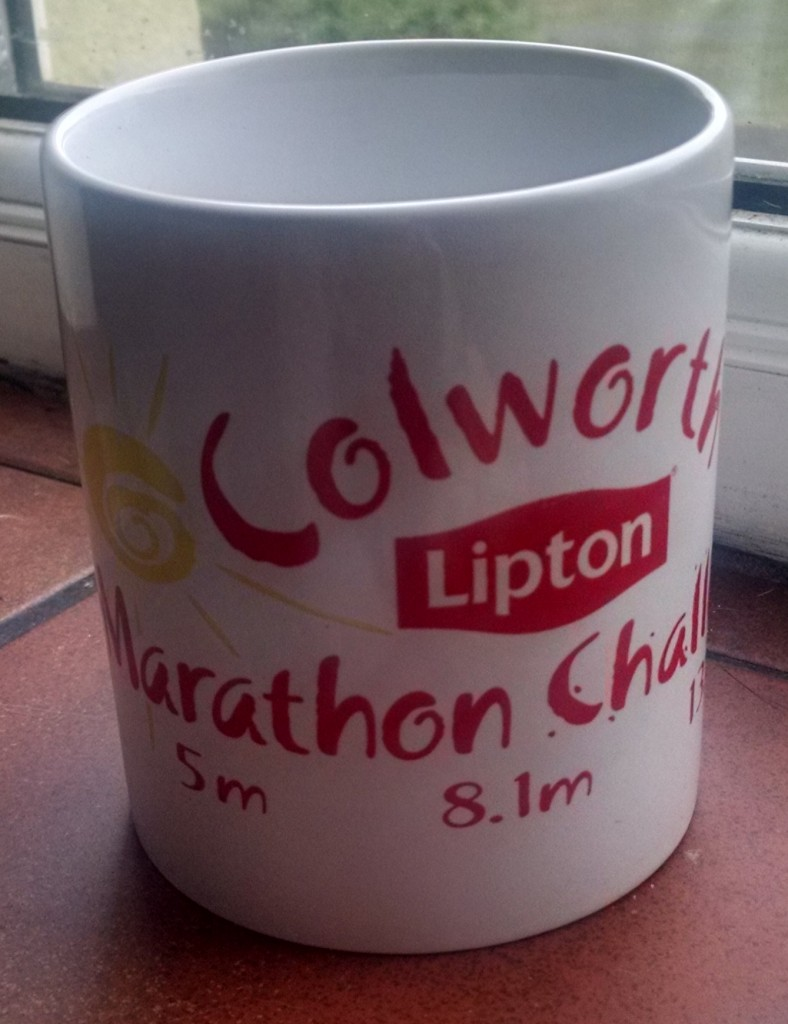 Colworth Marathon Challenge mug