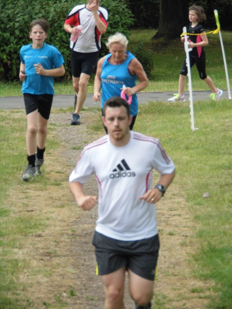 Dan at Corby parkrun