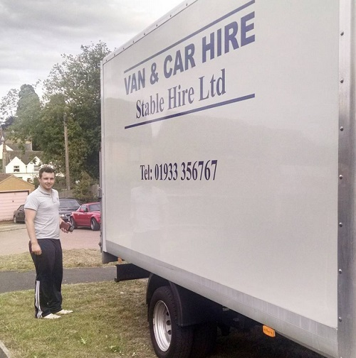 Moving van - Stable Hire Ltd