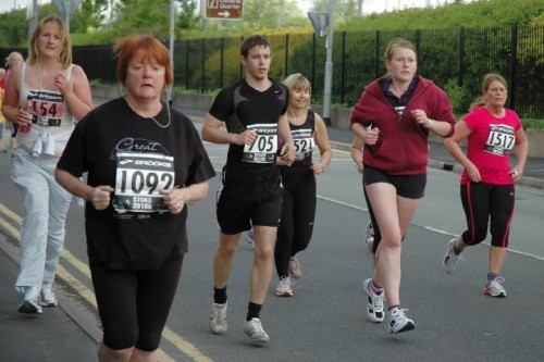 Dan and I at Stoke 2010k