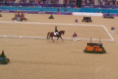 Dressage at the London 2012 Paralympics