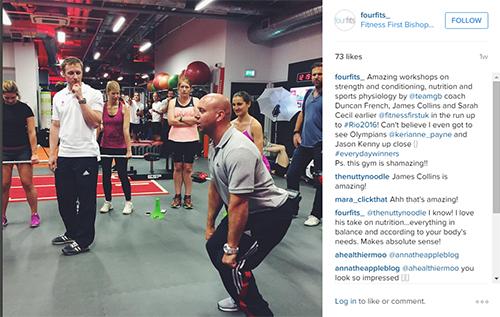 Fitness First workshop