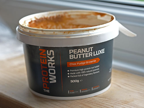 The Protein Works - Peanut Butter Luxe - Choc Fudge Brownie flavour