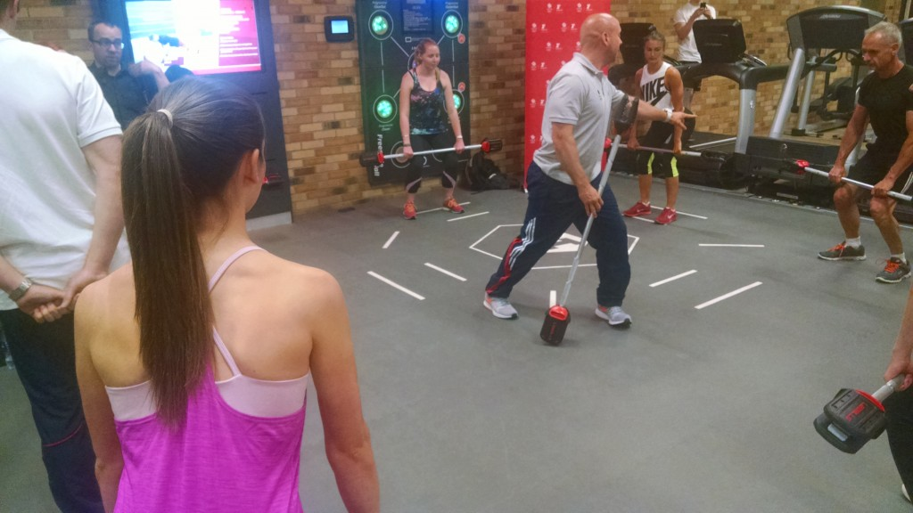 Duncan French at Fitness First