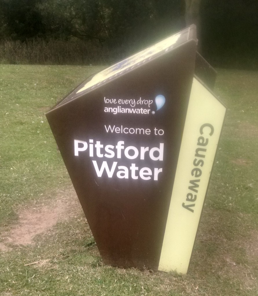 Pitsford Water sign