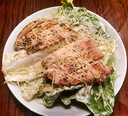 Caesar Salad from TGI Fridays