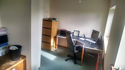 The office getting there