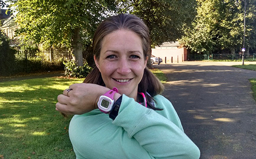 Lindsay going sub 30minutes for a 5k PB at parkrun
