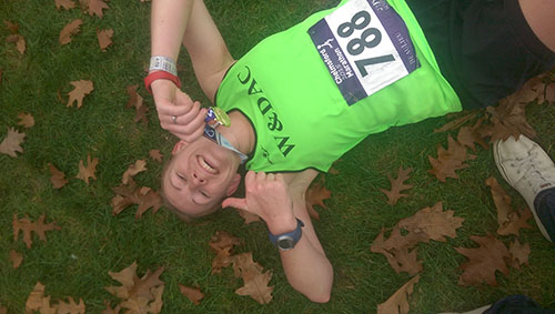 Chelmsford marathon finish photo