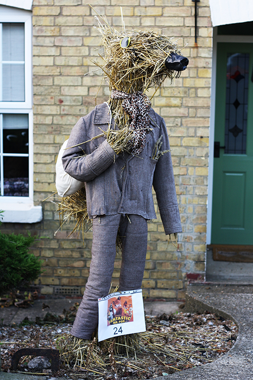 Scarecrow festival in Stanwick