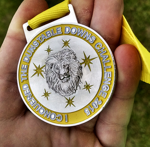 Dunstable Downs 20m Challenge - medal