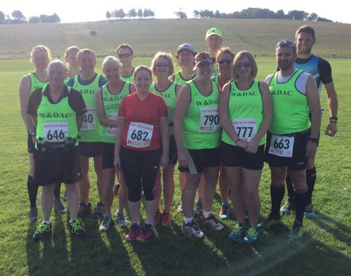 Royston harvest trail run WDAC runners