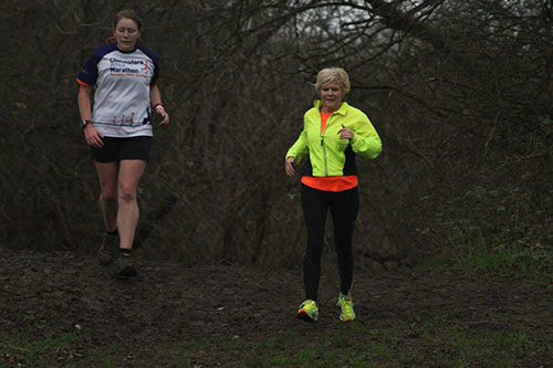Corby Christmas day parkrun with Gillian