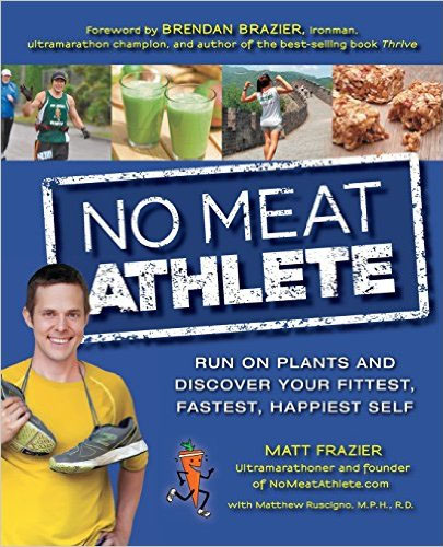 Christmas wish list - No Meat Athlete book