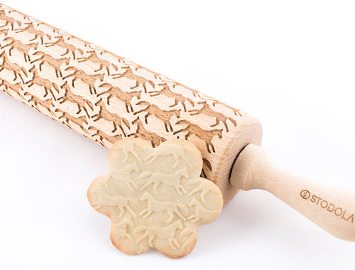 Christmas wish list - horse rolling pin