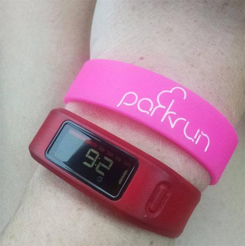 parkrun barcode band